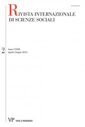RIVISTA INTERNAZIONALE DI SCIENZE SOCIALI - 2014 - 2