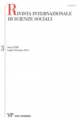 RIVISTA INTERNAZIONALE DI SCIENZE SOCIALI - 2014 - 3