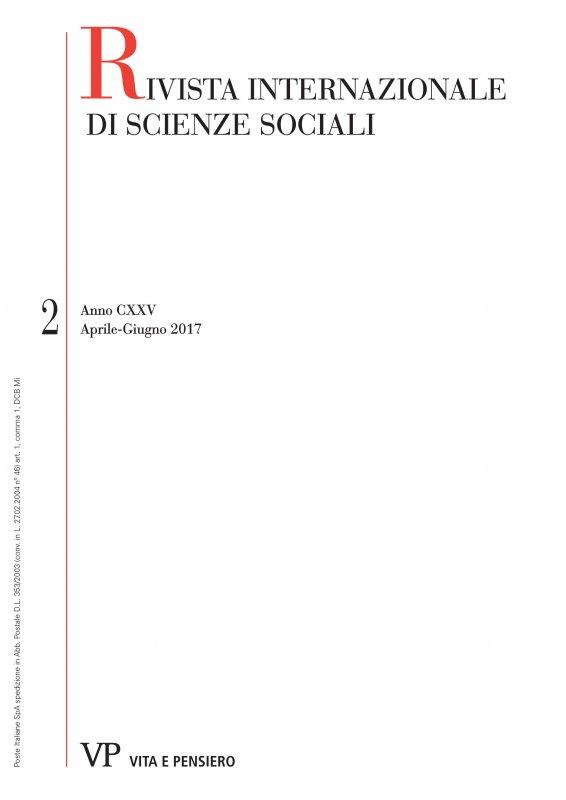 RIVISTA INTERNAZIONALE DI SCIENZE SOCIALI - 2017 - 2