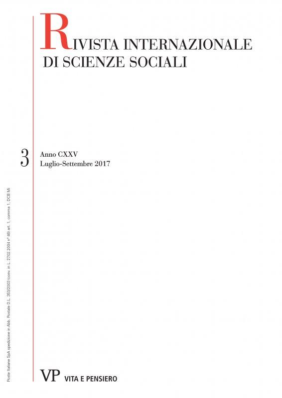 RIVISTA INTERNAZIONALE DI SCIENZE SOCIALI - 2017 - 3