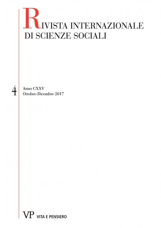 RIVISTA INTERNAZIONALE DI SCIENZE SOCIALI - 2017 - 4
