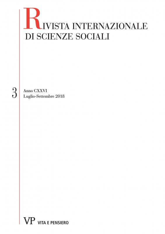 RIVISTA INTERNAZIONALE DI SCIENZE SOCIALI - 2018 - 3